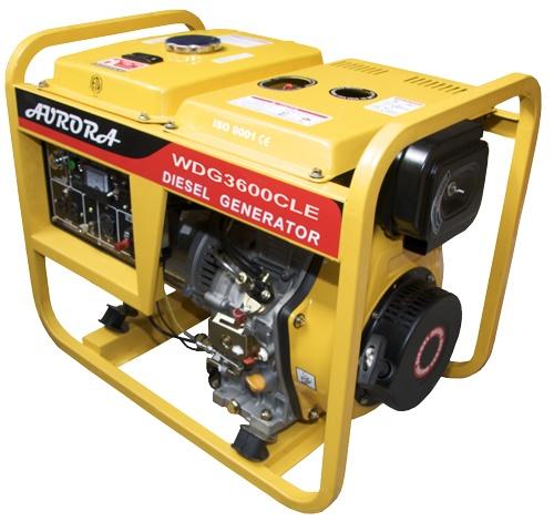 small portable diesel generator. 3600 Watt Portable Diesel Generator Small
