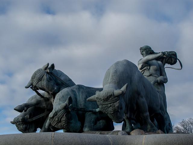 A Statue in Copenhagen