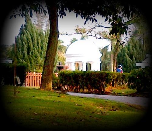 20120325-White dome at Taman Rekreasi Bukit Jalil