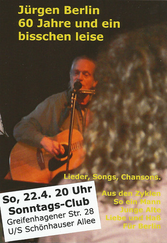 Konzert am 22. April 2012