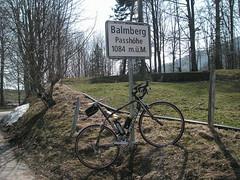 Balmberg, Passhöhe
