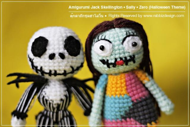 Amigurumi Jack Skellington, Sally, Zero Explore ...