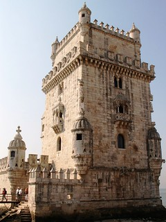 Attēls no Belém Tower pie Algés. portugal lisboa lisbon