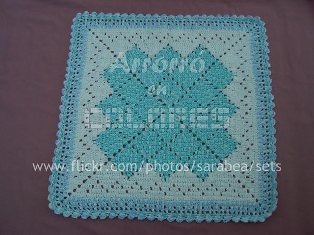 cobijas de crochet para bebe