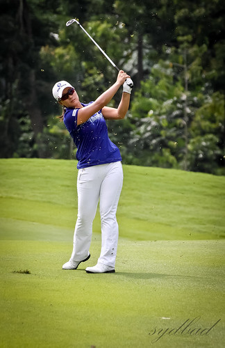 Se Ri Pak - Pretty nice swing at the Sime Darby LPGA Malaysia 2011