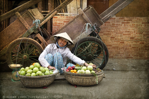 The Fruit Seller by alison lyons photography