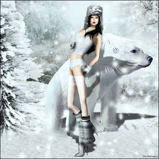 Angel Dessous - Angel of November - Amita Yorcliffe in Winter Wnderland Theme