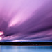 Purple sky II