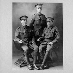 Private Theo Leslie Seabrook, 2 Lieutenant William Keith Seabrook, Private George Ross Seabrook by IWM Collections