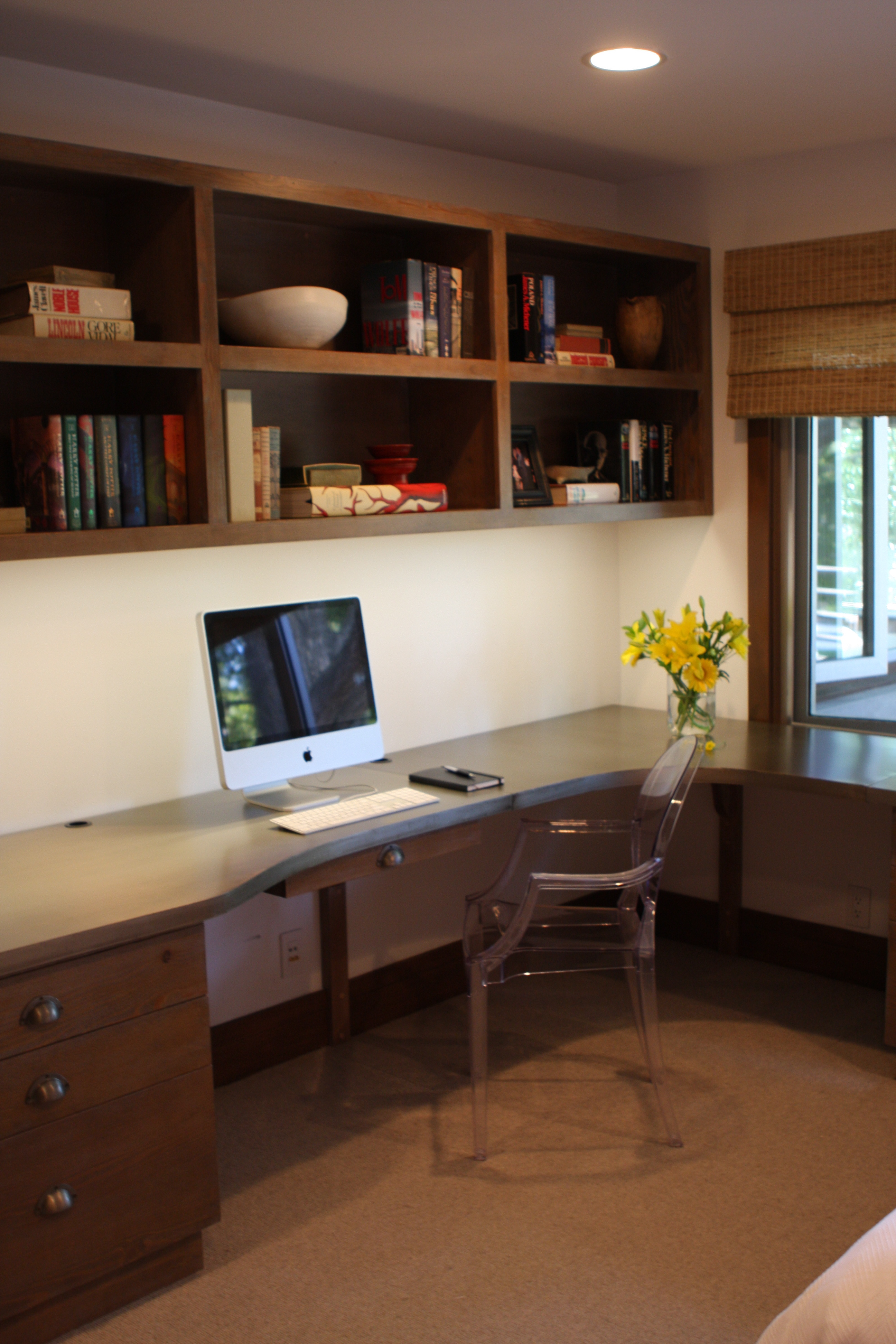 Custom Industrial Home Office Design Flickr Photo Sharing
