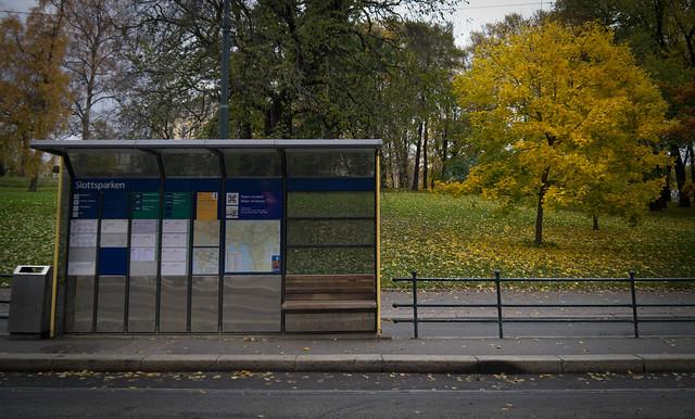 slottsparken bus stop (Oslo)