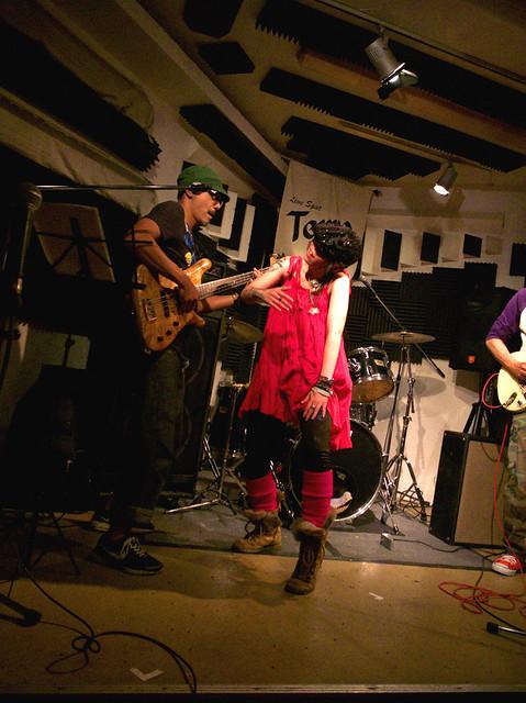 アキノギ&春日善光 live at Terra, Tokyo, 27 Oct 2011. 159