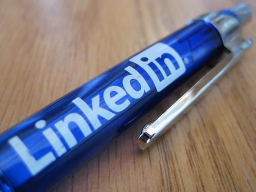 LinkedIn pencil
