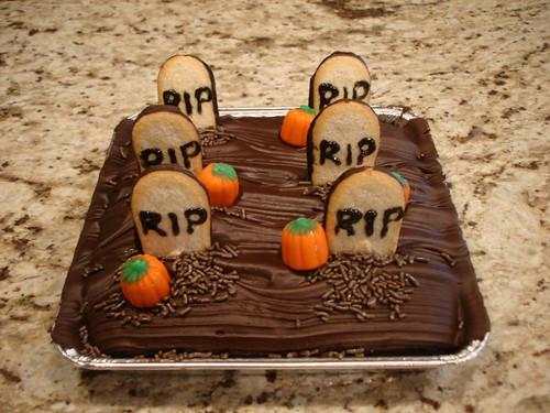 Cemetery Cake by midgefrazel