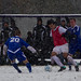 Amherst College Men's Soccer Dominates Colby, Takes 4-0 Victory In Heavy Snow