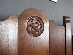 Slytherin chair