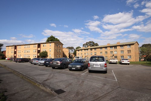 Housing Commission flats in Ascot Vale