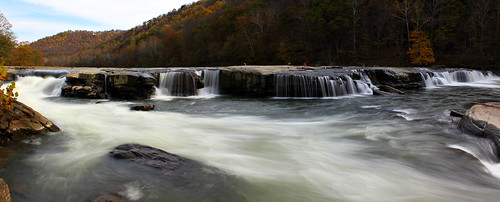 waterfall panoramic westvirginia valleyfalls