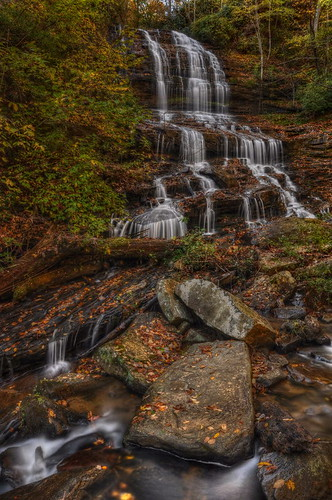 longexposure autumn mountains fall nature landscape waterfall nikon northcarolina cascade hdr photomatix pearsonfalls neutraldensityfilter tonemapped pearsonsfalls nikond90