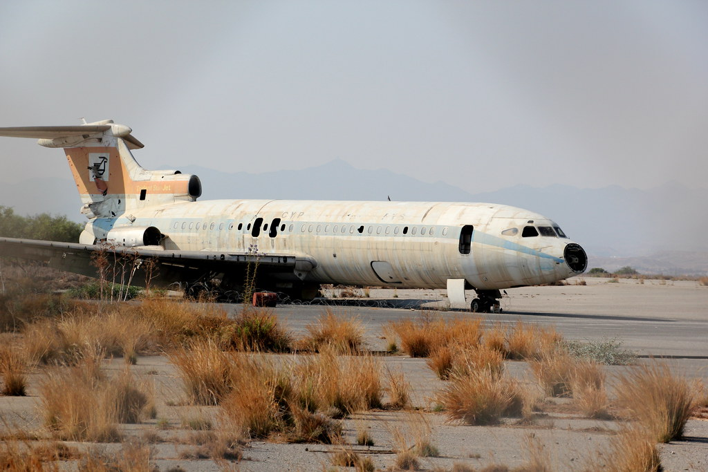 Abandoned Hawker Siddeley Trident 2
