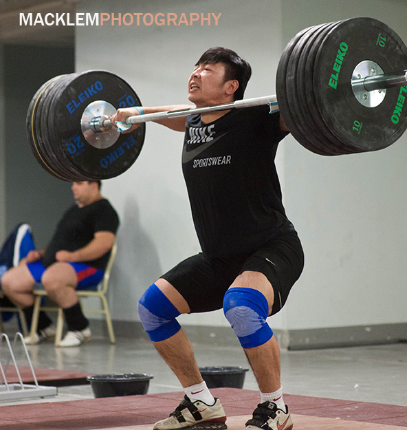 Lu Yong CHN weightlifter 2008 Olympic champion 85kg category
