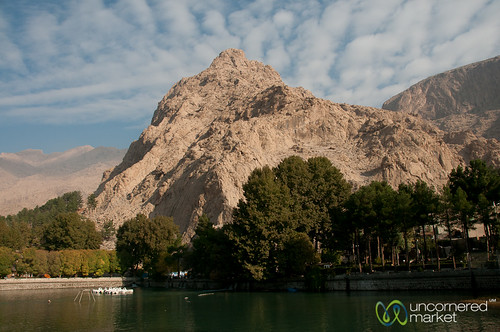 mountain lake landscape iran kermanshah kermānshāh dna2iran