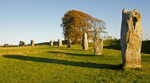 Avebury in the Evening