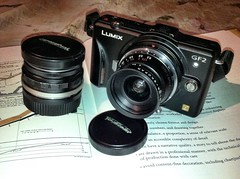 Panasonic GF-2 with Voigtlander LTM lenses