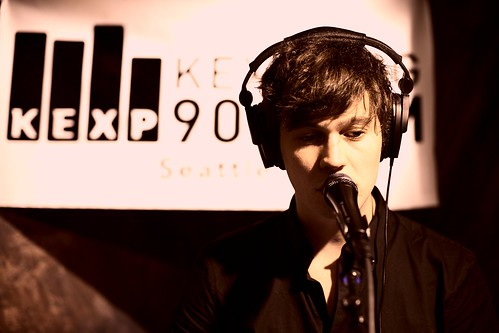 Washed Out, in the KEXP studios 2011-10-07