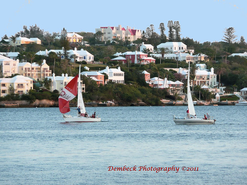 Boats in Hamilton Bermuda