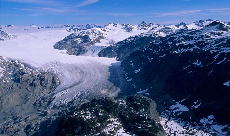 Survol de Rocheuses en hydravion (Whistler, Colombie-Britanique, Canada)