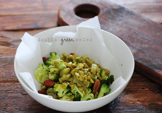 double green salad