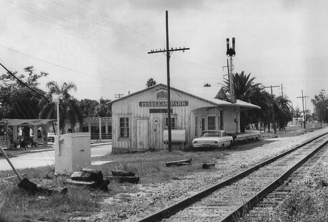 Last Days Of Pinellas Park Depot In 1970