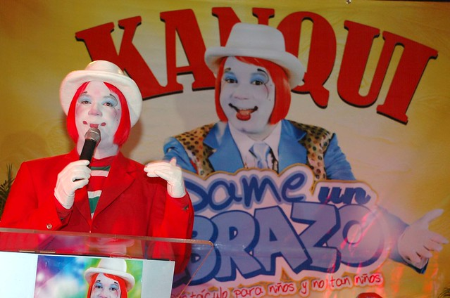 "Anuncian show ""Kanqui dame un abrazo"""