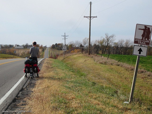 Following the Lewis & Clark trail, MO