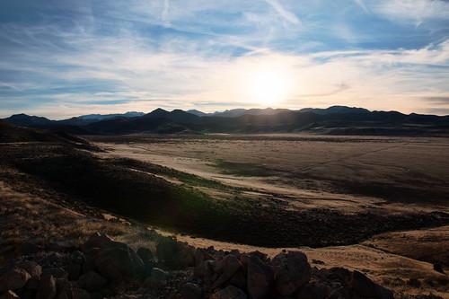 poverty sunset mountains landscape utah desert flats 1750 tamron vc hdr tushar d90 november22 tonemapped 3652011