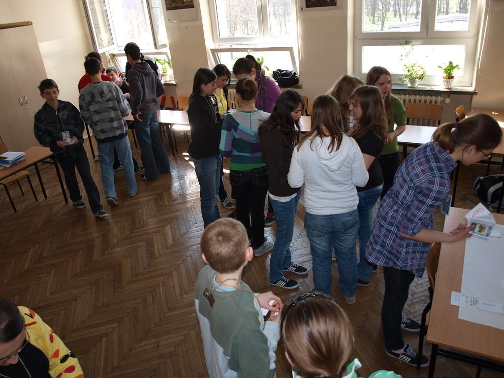 Grupa testowa - uczniowie Gimnazjum nr 2 w Skawinie