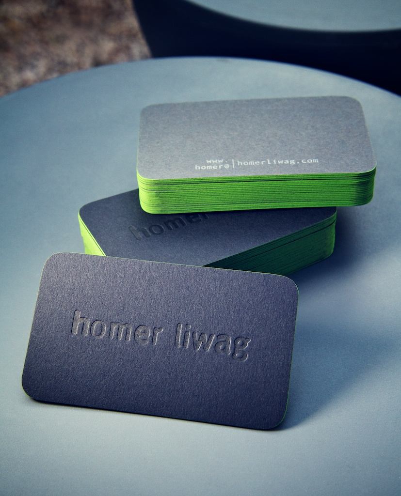 Homer Liwag Business Cards