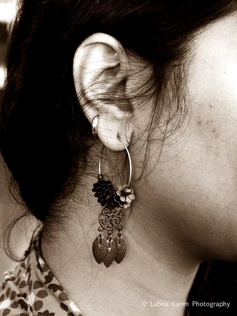 Earring....