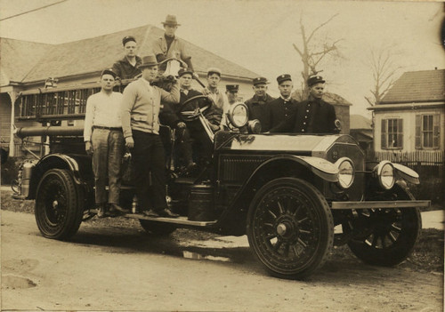 Fire engine, 1929