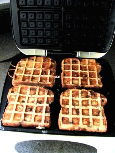 Sun-Maid Raisin Waffle Toast