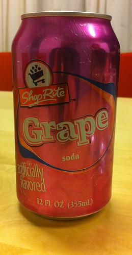 Shop Rite - Grape Soda 1