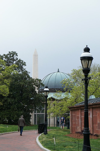 View from Smithsonian Gardens