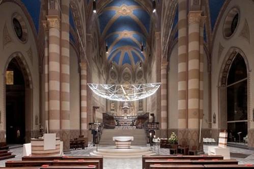 <p>Illuminazione Duomo di Alba</p>