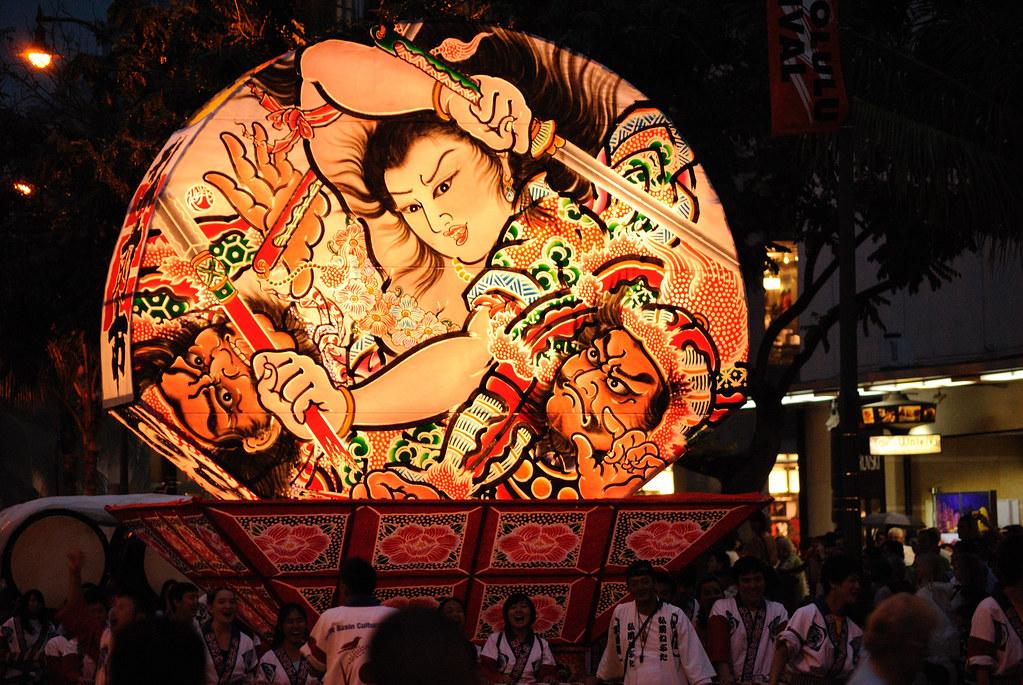 Honolulu Festival Parade - Hirosaki Neputa