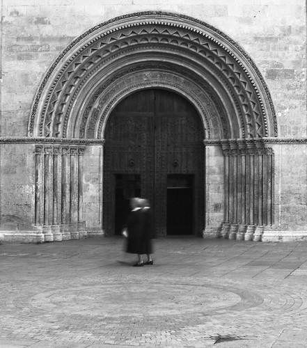 PORTA ROMÀNICA DE LA CATEDRAL DE VALÈNCIA