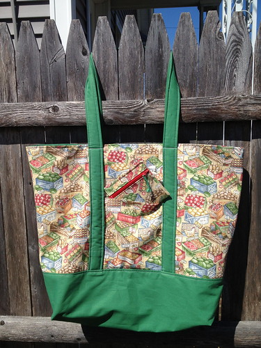 Farmers Market Bag - hanging