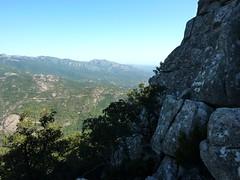 Pointe du Castellucciu di A Tia : le versant Nord et la vue vers l'Est