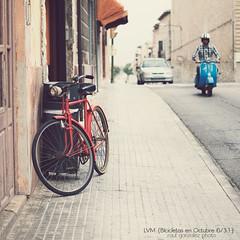 LVM {Bicicletas en Octubre 6/31} oleh raul gonza|ez