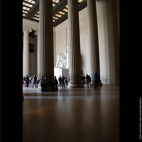 people white building statue architecture square washingtondc interior tourists lincoln lincolnmemorial marble pillars thegalaxy thegreekstyle